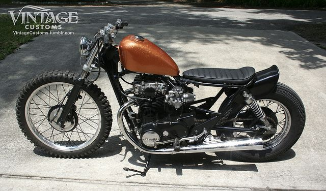 Complete FOR SALE 80 XS650- No Frills Budget Bobber