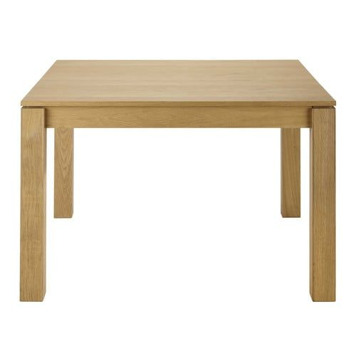 Table 4 Personnes Extensible.Table A Manger Carree Extensible 4 A 8 Personnes En Chene