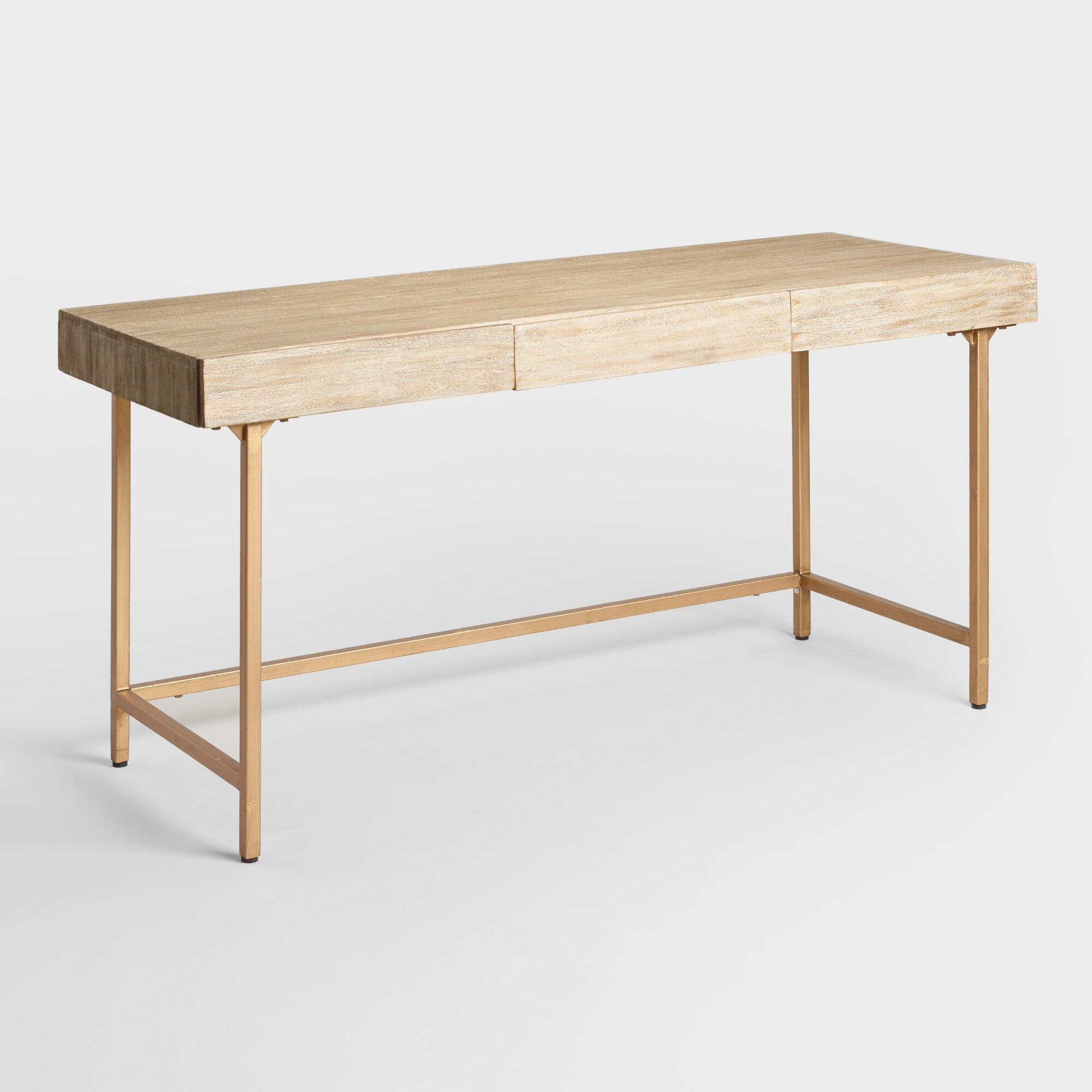 Pleasant Driftwood Cristela Desk Natural By World Market Products Download Free Architecture Designs Embacsunscenecom