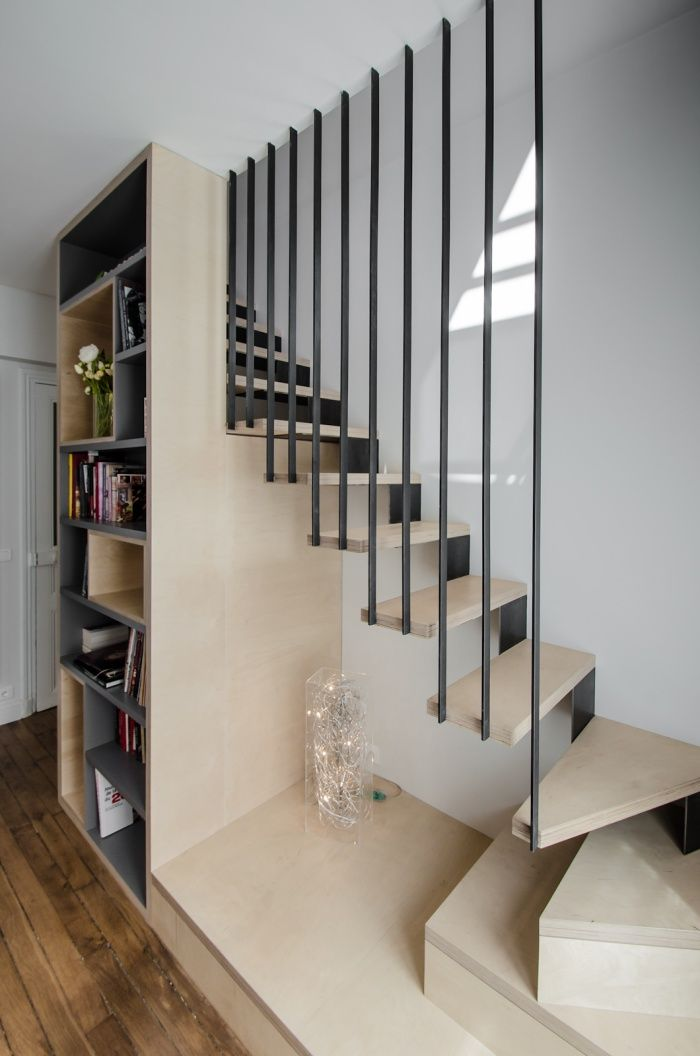 l ger et utile escalier rampe stairs interior stairs et house stairs. Black Bedroom Furniture Sets. Home Design Ideas