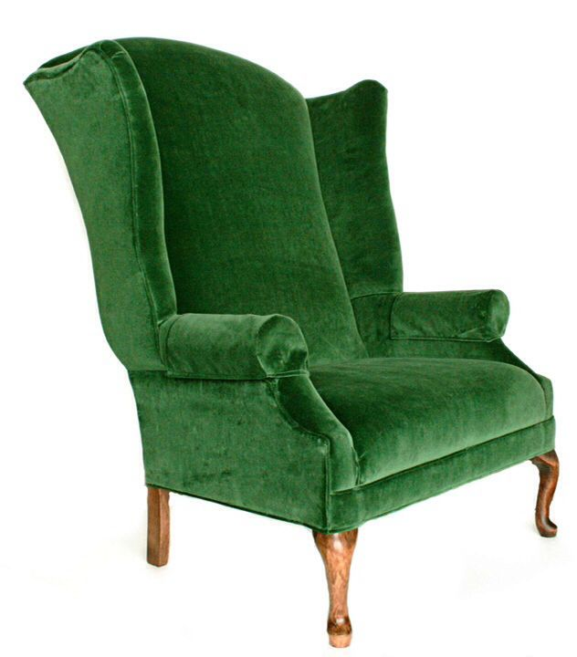 Merveilleux Extra Tall Wingback Chair From Bronneru0027s Commercial Display.