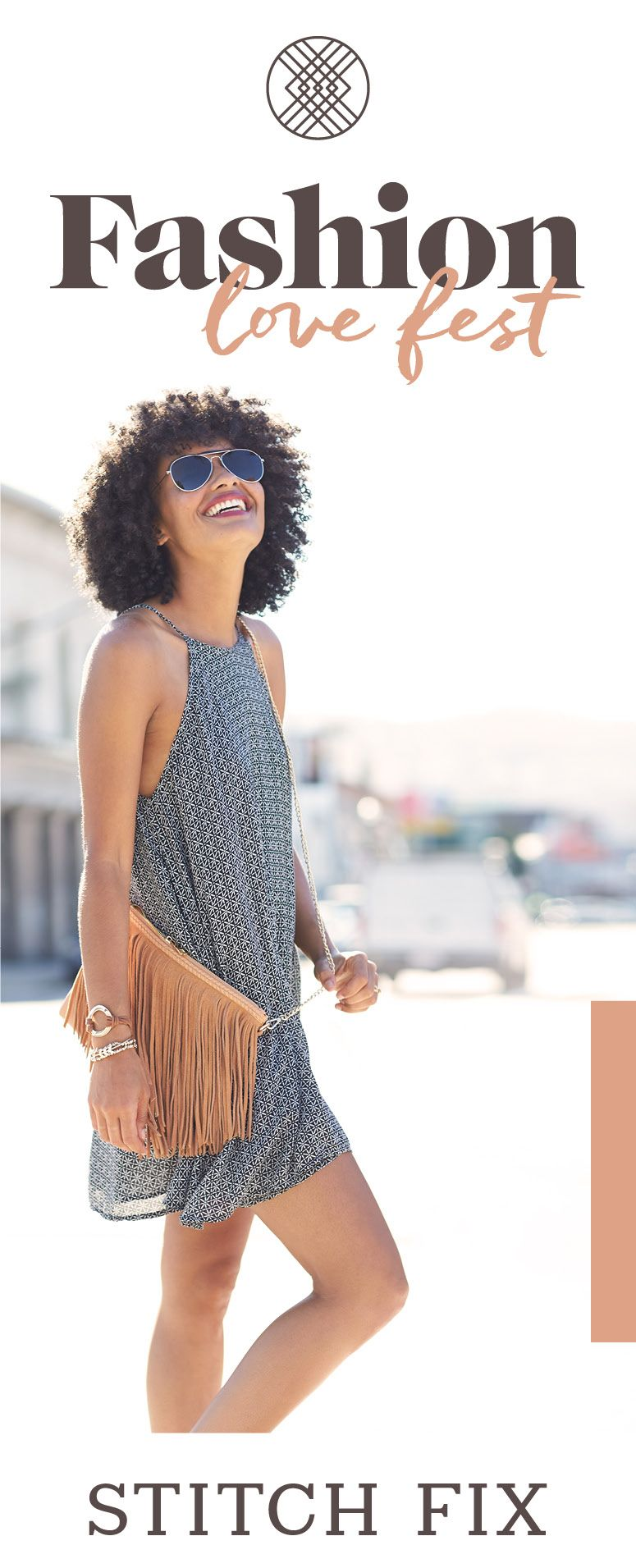 Whether you're hitting the festival circuit this summer, or just love the vibes, you can't go wrong with trendy boho looks. #StylistTip: Fringe, fringe, fringe! Sign up for Stitch Fix today to get stylist-selected, on-trend looks for every event on your calendar.