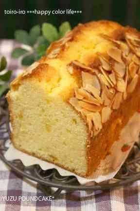 ゆず茶・ジャムdeしっとりパウンドケーキの画像