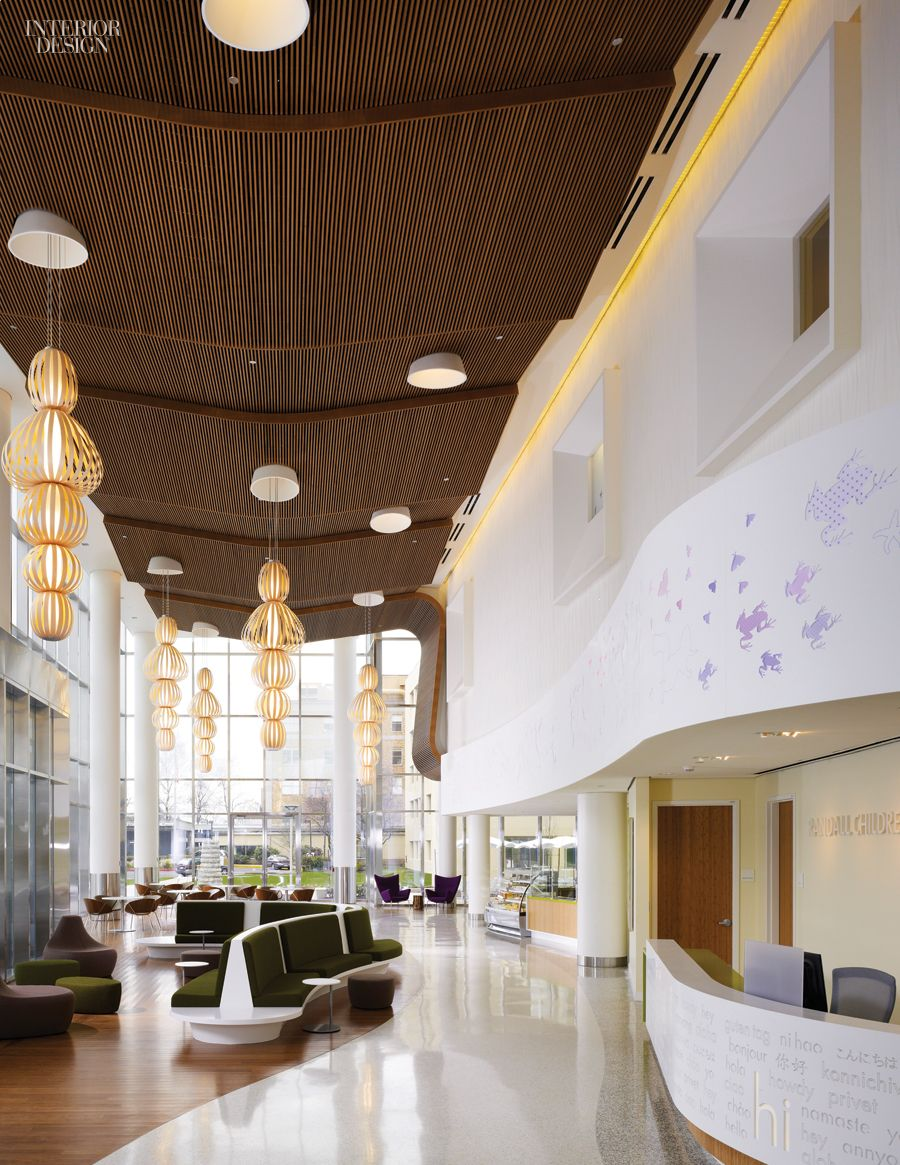 zgf architects warm and whimsical randall children s hospital in