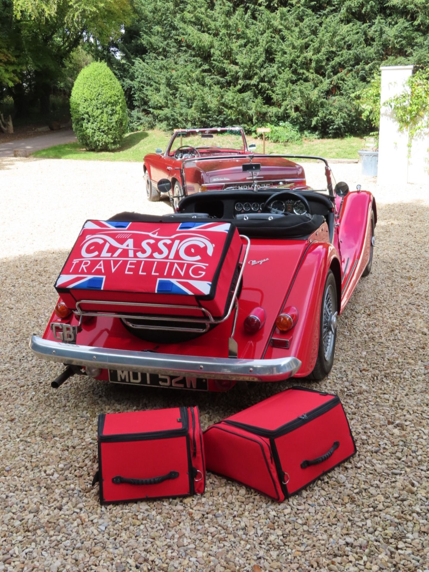A fabulous range of bespoke fitted luggage for and
