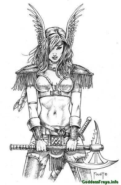 Tattoo Instructions With Images Valkyrie Tattoo Norse