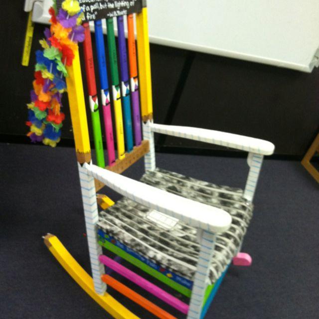 Teacher Rocking chair | fUn with Firsties | Pinterest ...