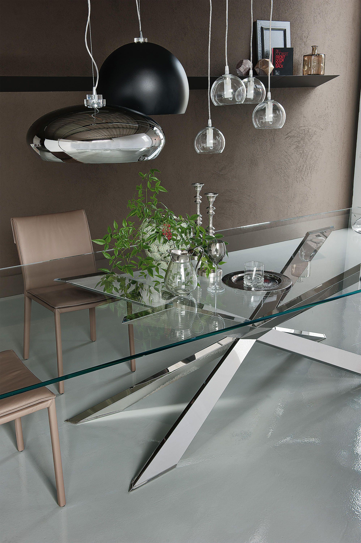 Tavolini Da Salotto Moderni Cattelan.Spyder Tavoli Da Pranzo Di Design Cattelan Italia Tutte Le