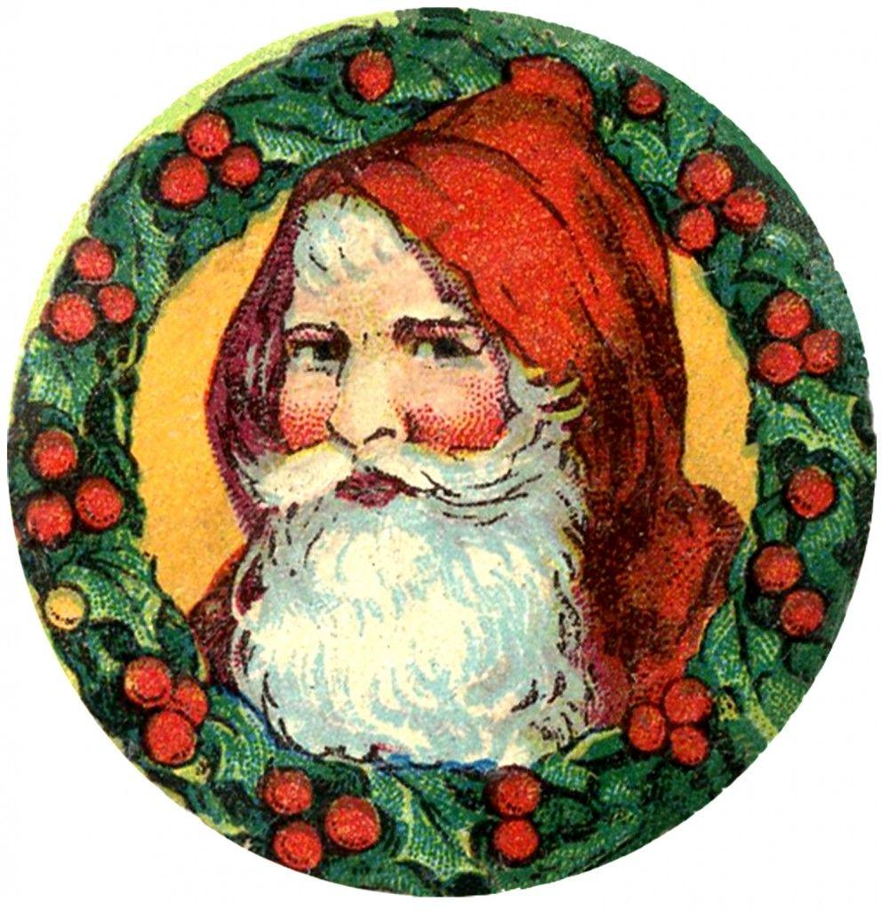 Santa Clip Art Image Christmas Art Clip Art Graphics Fairy