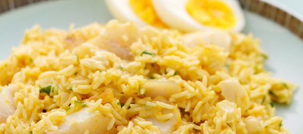 Kedgeree - A classic Scottish breakfast dish which which is nutritious and delicious!  www.fishisthedish.co.uk/recipes/kedgeree