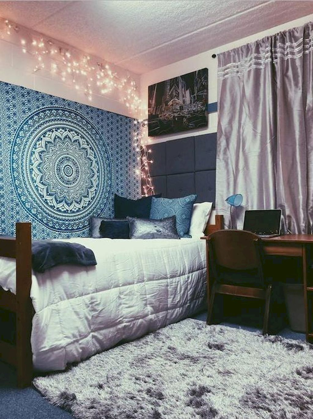 Top 27 Diy Ideas How To Make A Perfect Living Space For Pets: 60 Stunning And Cute Dorm Room Decorating Ideas