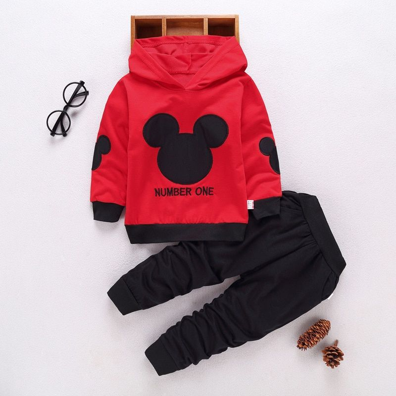 cb1458e58 Cheap children clothing set, Buy Quality clothing sets directly from China  girls mickey Suppliers: 2018 spring autumn new kids 2pcs sport suits  fashion baby ...