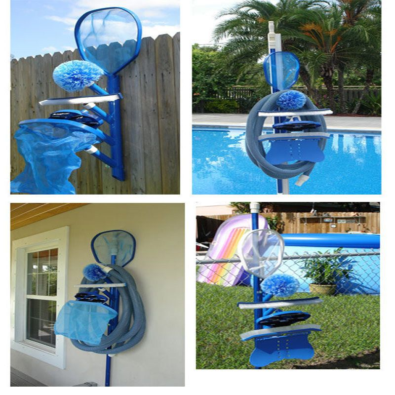 Swimming Pool Pelican Pool Caddy Equipment Maintenance Accessory Holder Pool Decor Pool Accessories Swimming Pool House
