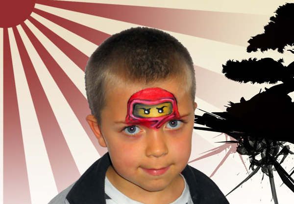 Maquillage Ninjago