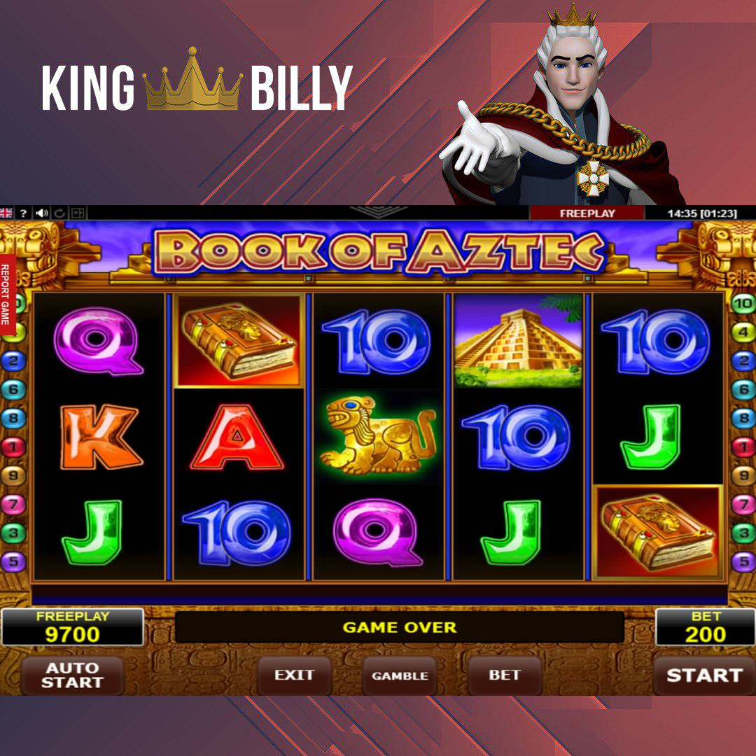 King Billy Casino Invites To Play Book Of Aztec Slot Online Book Of Aztec Slot Will Keep You Entertained King Billy Approves Book Of Aztec Review On Kingbilly