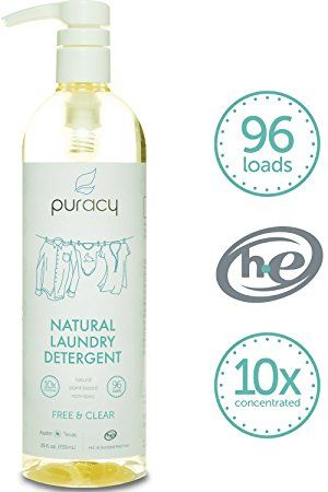 Puracy Natural Liquid Laundry Detergent Sulfate Free The Best