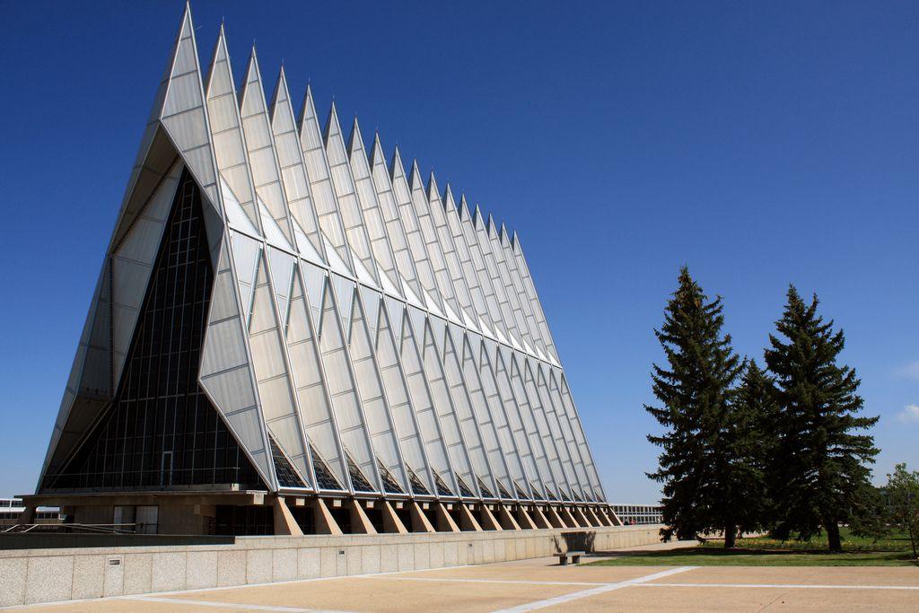 Air Force Academy Cadet Chapel, Colorado, USA