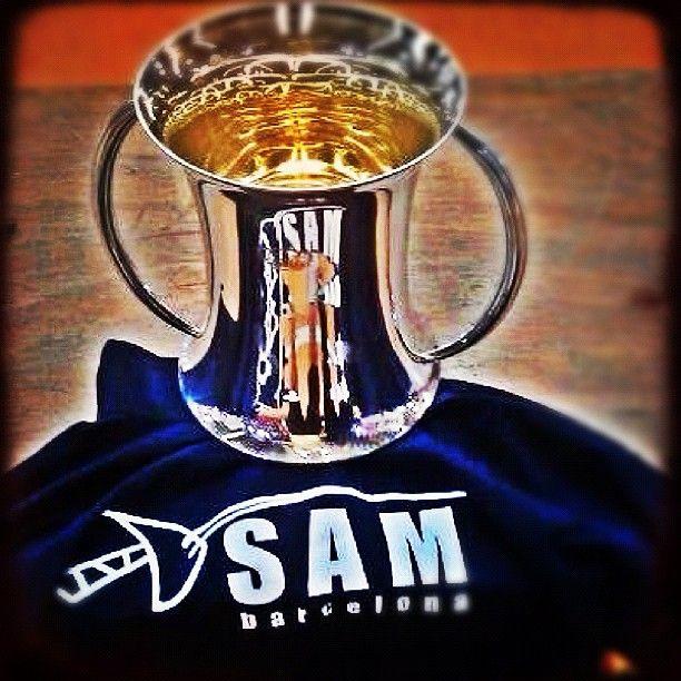 La Copa del Rey de @Esgrima SAM ganada 33 años después. Felicidadesss