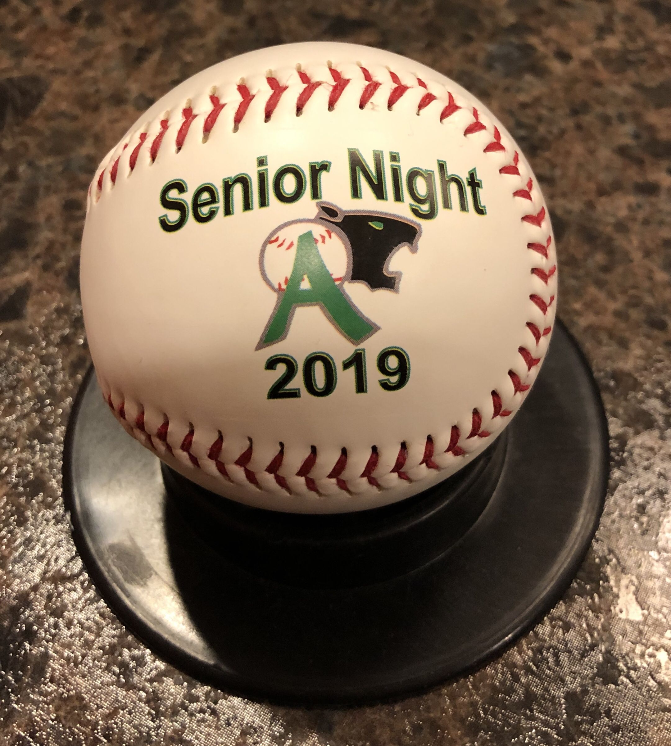 Celebrate the seniors with our personalized baseballs