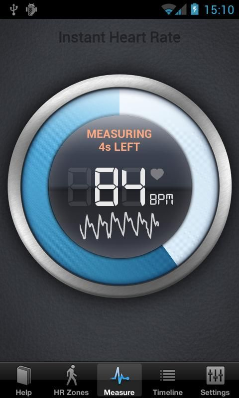 57250e8ad71 Instant heart rate app.