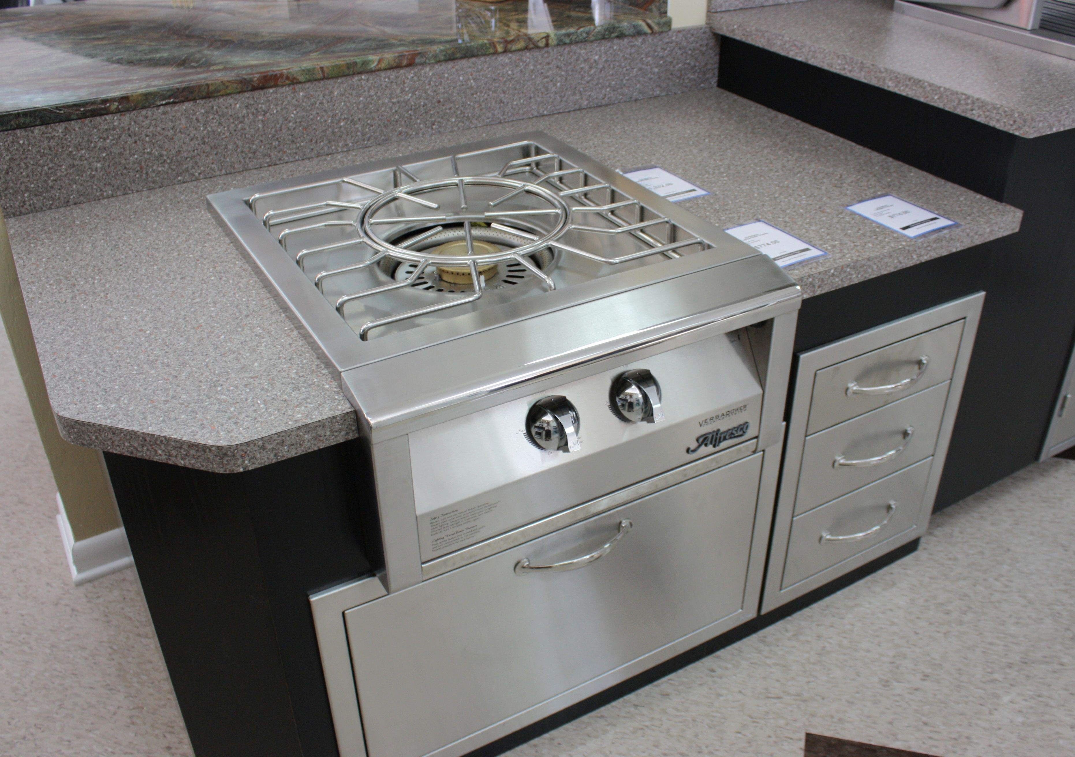 Huge Outdoor Burner From Alfresco Outdoor Kitchen Wok Stir Fry Outdoor Kitchen Kitchen Home Tech