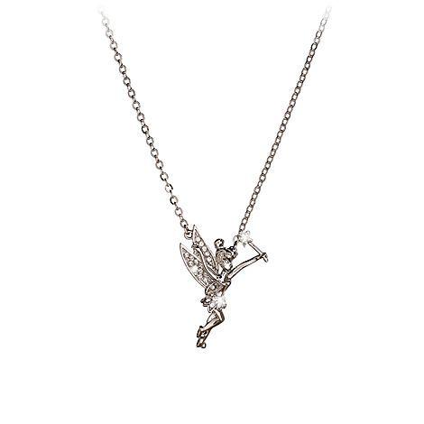 f62ea9ec6945e Tinker Bell Necklace by Arribas | Jewelry | Disney Store ...
