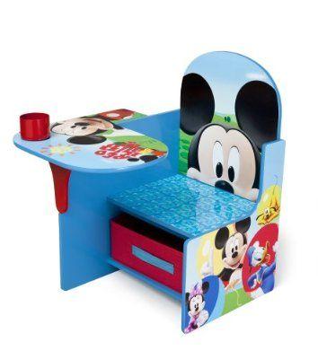 Delta Children Chair Desk With Storage Bin Disney Mickey Mouse Mickey Mouse Room Mickey Mouse Bedroom Toddler Desk