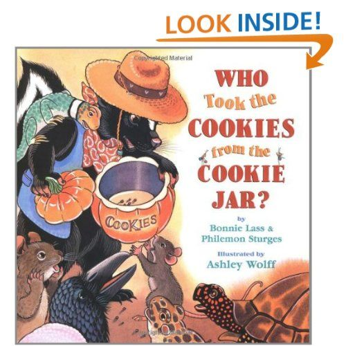 Who Took The Cookie From The Cookie Jar Book Inspiration Who Took The Cookies From The Cookie Jar By Bonnie Lass Philemon