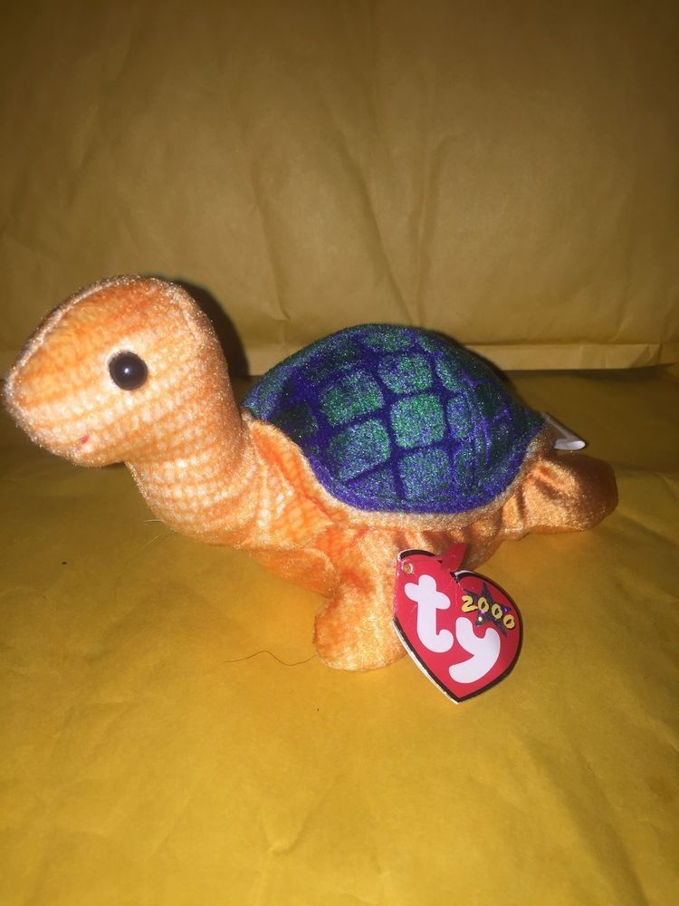 84a57fa340e RARE   RETIRED TY BEANIE BABY~PEEKABOO THE TURTLE 6