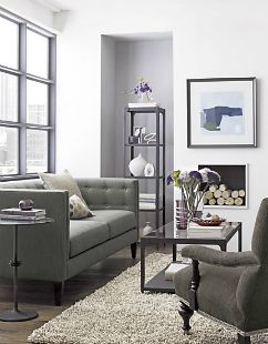 Knockout Knockoffs: Crate & Barrel\'s Aidan Sofa Space | Crates and ...