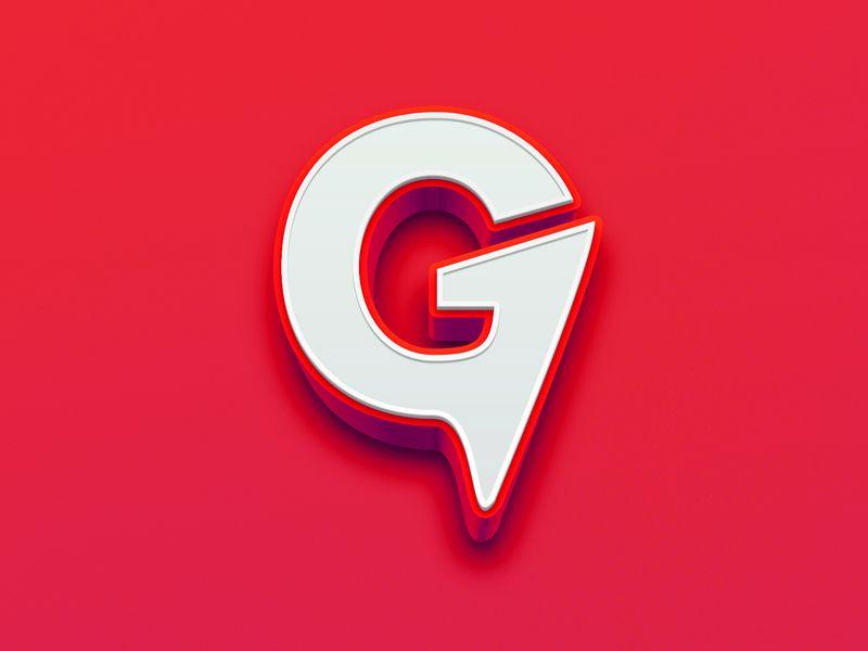 G MARK ∆ G logo design, Typography logo, Logos design
