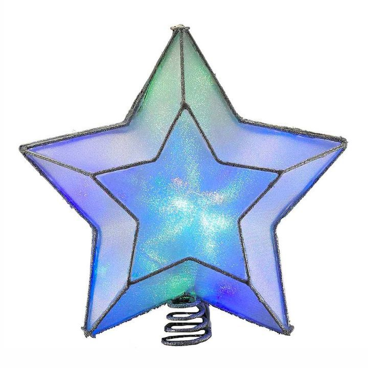 Kurt Adler LED Color-Changing Star Christmas Tree Topper Products