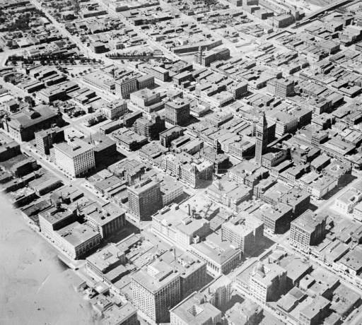 Denver Shooting Market: Early Aerial View Of Downtown Denver Between 1922 And 1930