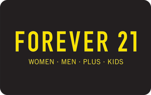 Forever 21 Gift Card Giftcards Com Official Forever 21 Gift Card Forever 21 Gifts Forever 21 Logo