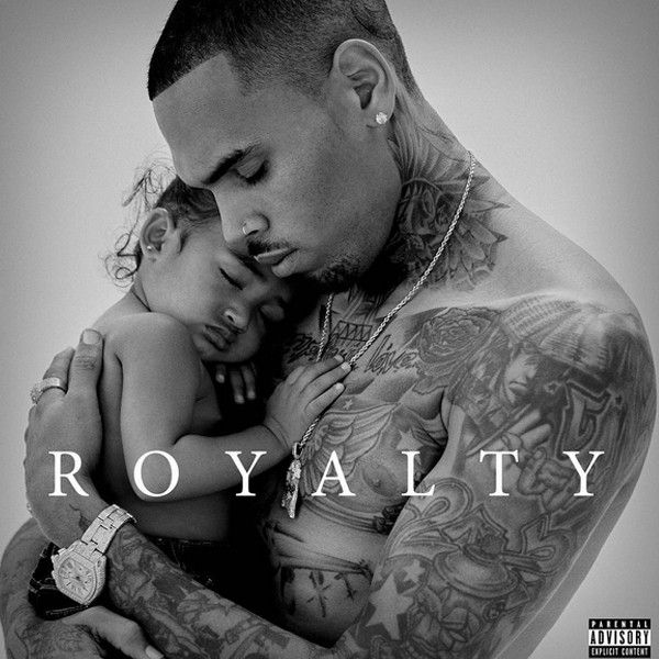 Chris Brown Is Cradling His Daughter Royalty On New Album Cover