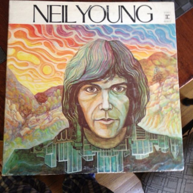 Neil Young Album Covers Debut Album Neil Young Lp Cover