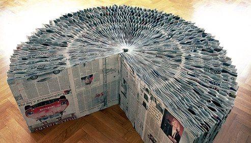 Tuoli lehdistä