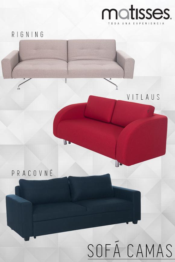 Los sofá camas son muebles funcionales perfectos para optimizar el ...