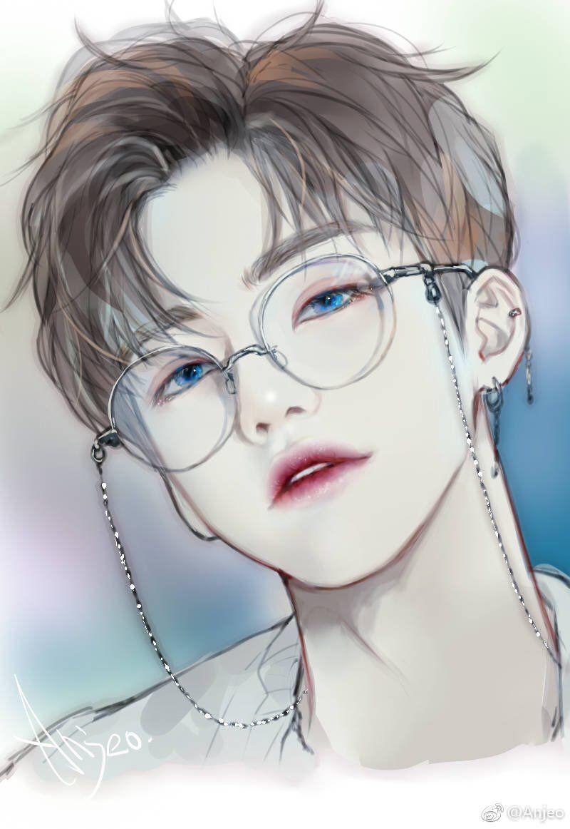 Najaem fan art korean anime anime art boy art