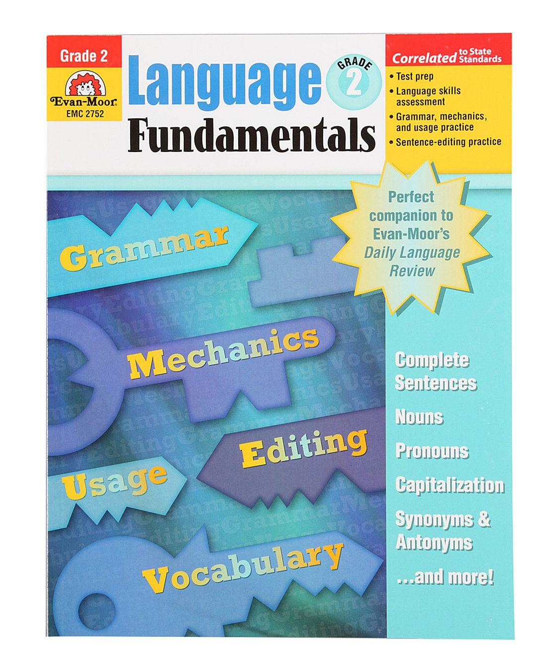 Language Fundamentals Grade 2 Paperback