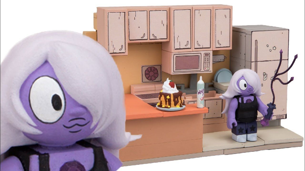 Exclusive Steven S Kitchen Set Reveal Mcfarlane Toy Steven Universe