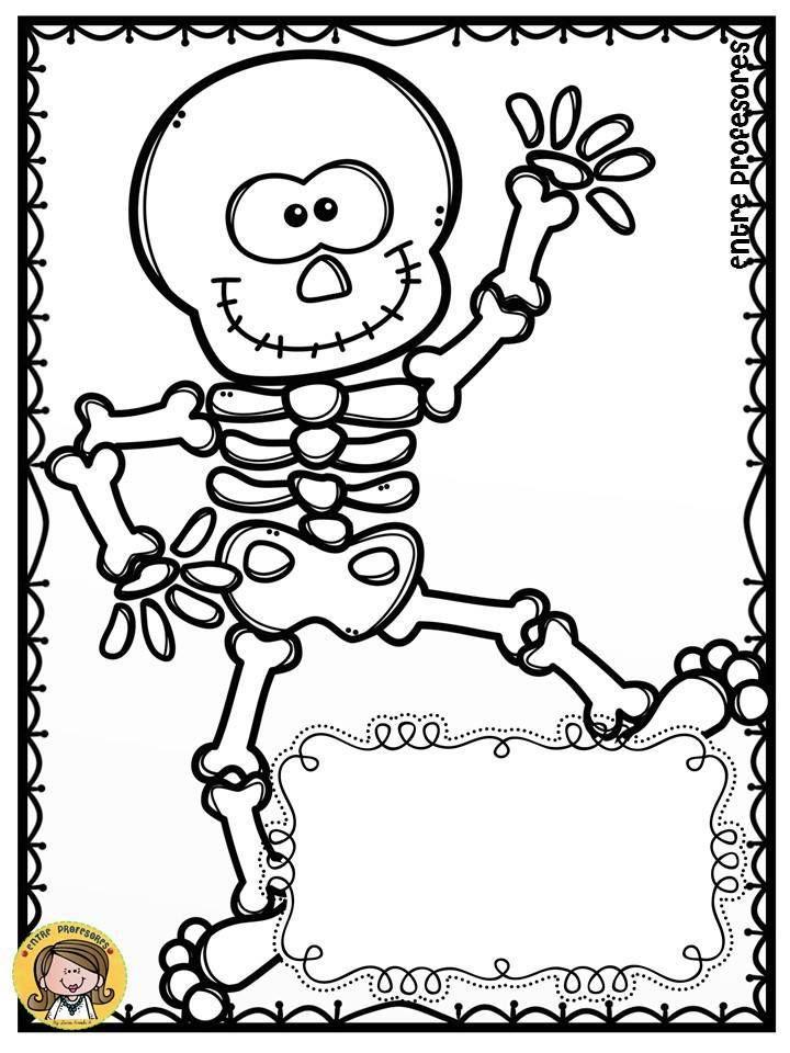 dibujos-para-colorear-el-dia-de-los-muertos-8 in 2018 | Vücudumuz ...