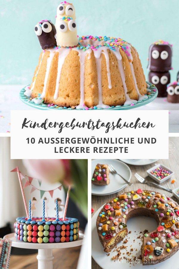Kindergeburtstagskuchen: 10 tolle Rezepte für das Geburtstagsfest #geburtstagskuchenkinder