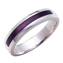 Elegant purple ring