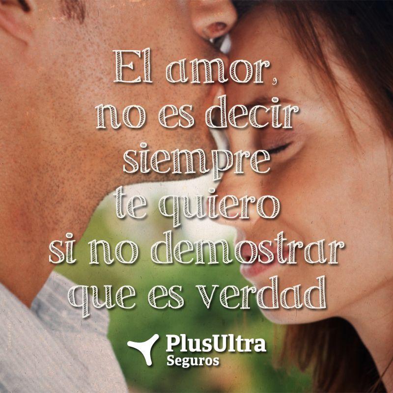 Poema Para Decir Te Quiero Sin Decirlo El Amor No Es Decir Siempre Te Quiero Si No Demostrar Que Es