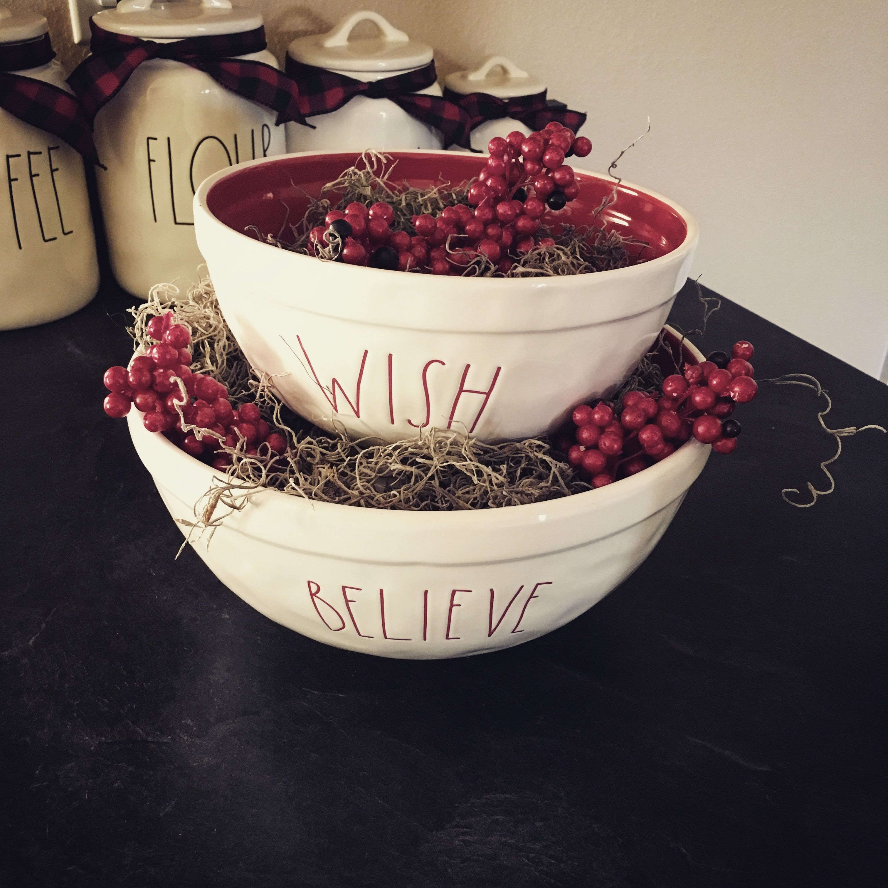 Rae Dunn Christmas Bowls.In Love With These Christmas Bowls Rae Dunn I Ll Never