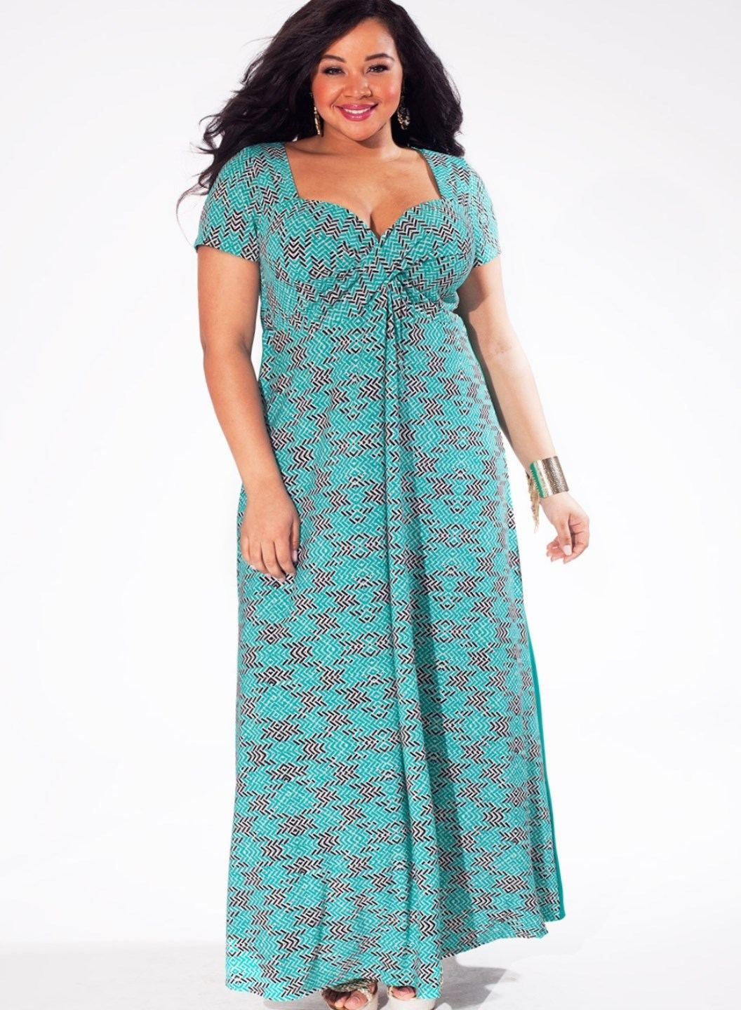Large size maxi dresses - http://fashion-plus-size-womens.info ...