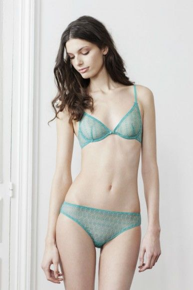 91db6983f Yse Lingerie A l horizon push up bra provides a subtle boost without  padding.