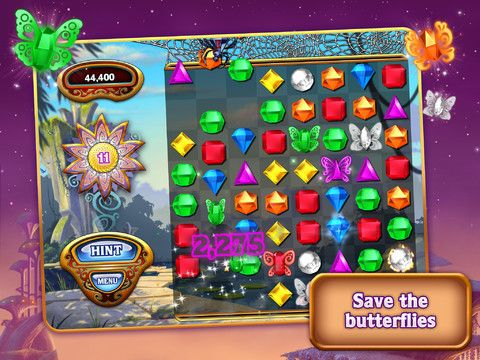 Probably the biggest why hasn't this come out yet? game for the iPad finally was released today. Popcap is rolling out Bejeweled HD around the world in the next 24 hours. The game supports the new iPad's Retina screen and sports four game modes, Classic, Butterfly, Diamond Mine, and Zen.