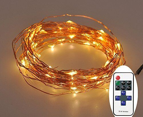 Starry String Lights Gorgeous Amazon Extra Long 52Foot 300Led Starry String Lights Warm White Inspiration Design